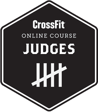 logo crossfit judge