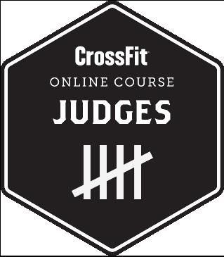 logo crossfit judge