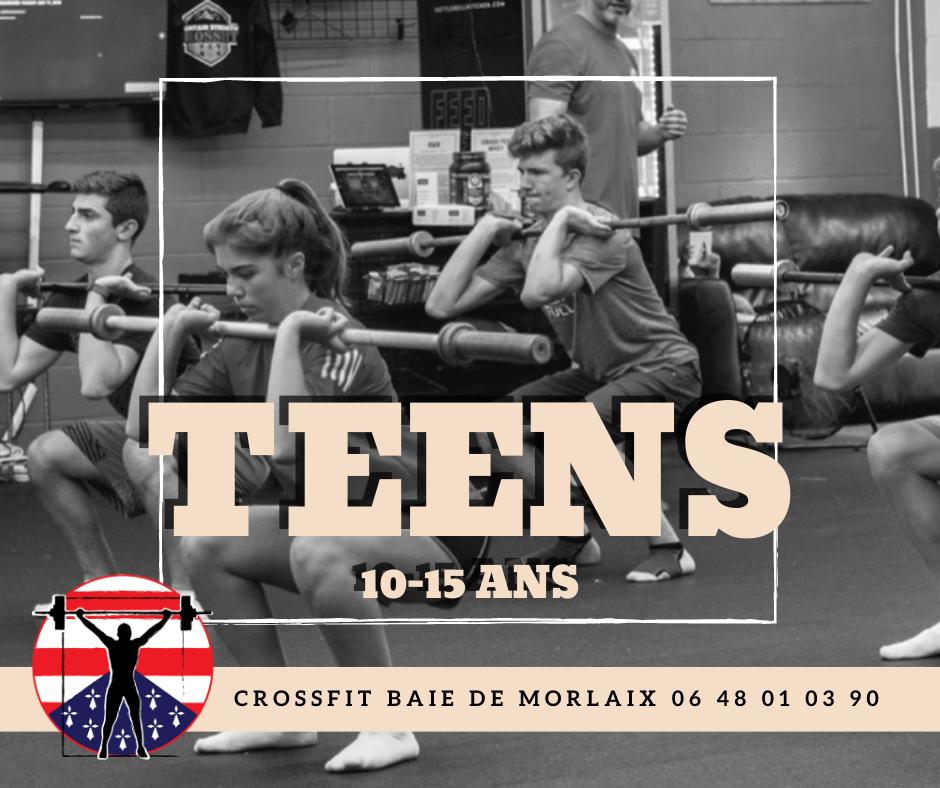Teens 10-15 ans